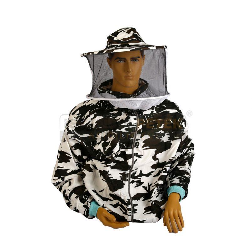 Arıcı Maskesi - Mont Combo ( Asker Kamufulajlı )