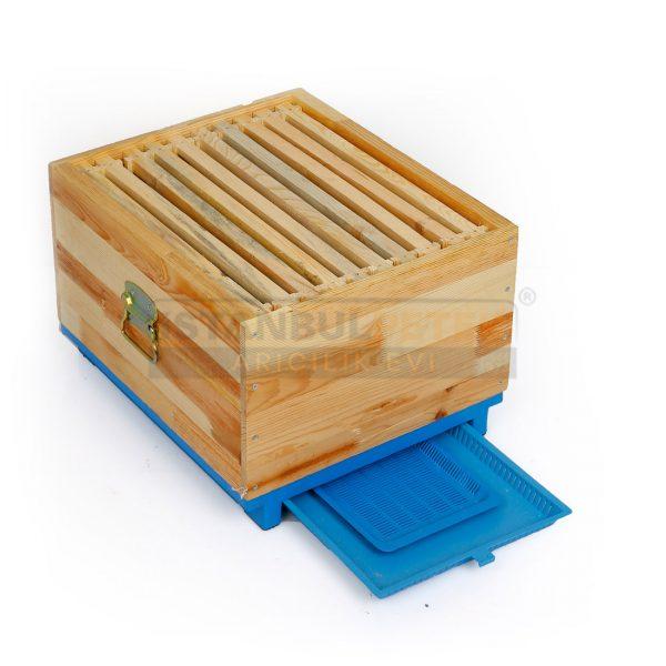 Arı Kovanı - Mavi Plastik Tabanlı (Süper) 2 Katlı