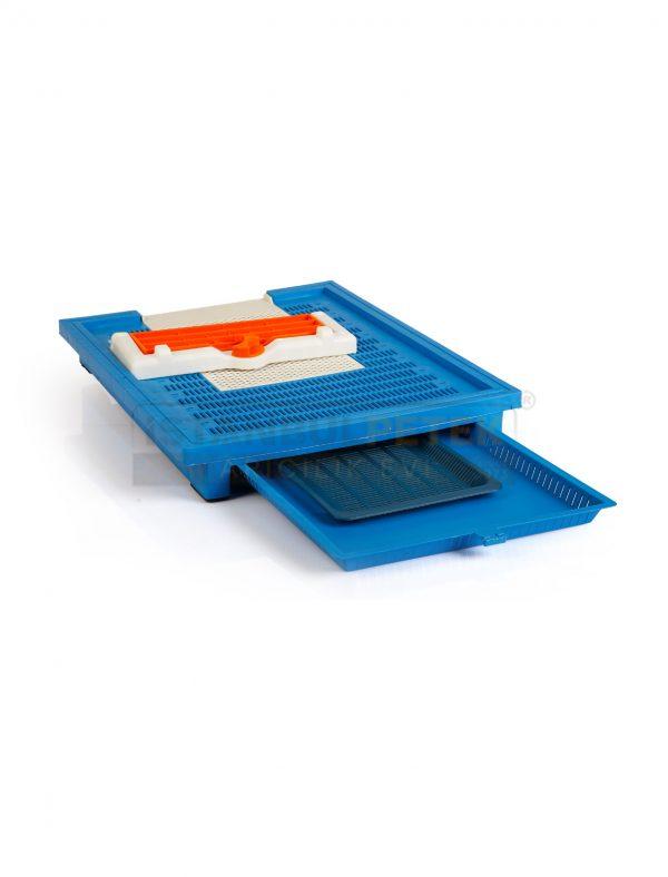 Plastik kovan tabanı istanbul petek mavi